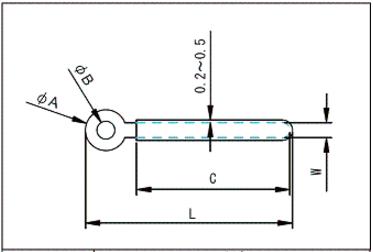 配線クリップ寸法