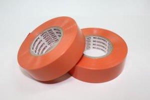 画像1: 耐熱ハーネス用ビニテープ(橙)