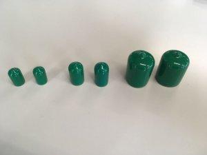 画像2: 園芸支柱キャップ 緑色