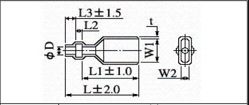 難燃性圧着端子用絶縁スリーブ